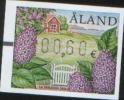 Aland 2006 Frama Label Lilac  1v Da 0,60 Euro ** MNH - Aland