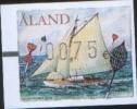 Aland 2009 Frama Label Sailing 1v Complete Set ** MNH - Aland