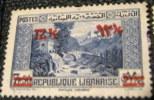 Lebanon 1938 Country Scene Overprinted 12.5p - Used - Liban