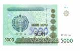 Ouzbekistan 5 000 Som  2013 NEUF - Uzbekistan