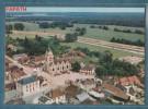 10-LUSIGNY-sur-BARSE-vue Aérienne Sur Le Centre Ville Et Son église- Non écrite - 2 Scans - 10.5 X 15 - CIM COMBIER - Francia