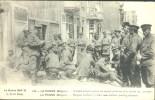 De Panne : Belgische Militairen Met Hun Nieuwe Uniformen Aan De Patattenjas - De Panne