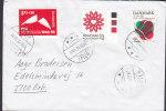 Denmark MÅLØV 1996 Cover Brief BRØNSHØJ Polio-, AIDS-, Y.M.C.A.- Stamps - Dänemark