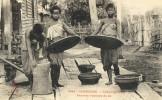 CPA (cambodge)    KOMPONG CHAM Femmes Vannant Le Riz - Cambodia