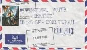 Guinee Guinea 1989 Tri Conakry Ariane Space Launch Rocket ESA Cover - Guinee (1958-...)