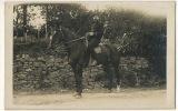 Bourg Lastic Carte Photo Militaire A Cheval 16 Eme Cavalerie 1912 - Otros Municipios