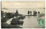 Saint-Cast - Débarquement Des Touristes à L´arrivée Du Vapeur De St-Malo 1923 - écrite Et Timbrée - 2 Scans - Saint-Cast-le-Guildo
