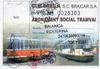 ABBONAMENTO SOCIALE-TRAM  ROMANIA,BRAILA - Europa
