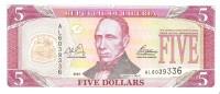 Liberia - Pick 26a - 5 Dollars 2003 - Unc - Liberia