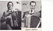 MARCEL AZZOLA - ACCORDÉONISTE - PHOTO ET EXTRAIT DE CATALOGUE - PONT DE VEYLE ET GRIEGES - Musique & Instruments