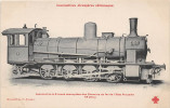 Locomotives étrangères (Allemagne) - Locomotive à 8 Roues Accouplées Des Chemins De Fer De L'Etat Prussien - N° 44 - Trains