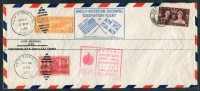 1937 GB USA Anglo American Goodwill Coronation Flight Cover London / New York - 1902-1951 (Kings)