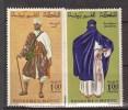 MAROC    1968     COSTUMES     N°  553 / 554        COTE    4 € 50           ( V 552 ) - Morocco (1956-...)