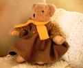 Ours Habillé Maillot Jupe écharpe Collection Moulin Roty - Teddybären