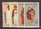 MAROC    1969     COSTUMES     N°  590 / 593       COTE    6 € 50           ( V 555 ) - Morocco (1956-...)