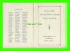 PROGRAMMES - THE SIXTY-NINTH ANNUAL COMMENCEMENT WOOSTER HIGH SCHOOL, 1936 WOOSTER, OHIO - 4 PAGES - - Programmes