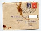 Lettre Cachet Arpagon Sur Arc Triomphe Armoirie - Cachets Manuels