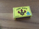 """Boîte D´allumettes BELGIQUE """"UNION MATCH POCKET - GREEN CHECK"""" Type 1 - Boites D'allumettes"""