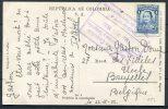 1932 Colombia Bogota RP Postcard - Uccle Belguim - Colombia