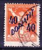 Tschechoslowakei CSSR - Portomarke (MiNr: 48) 1927 - Gest. Used Obl. - Timbres-taxe