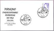 500 Años ADORACION DE LOS MAGOS - PERUGINO. Citta' Della Pieve, Perugia, 2004 - Other