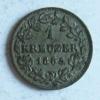 ALLEMAGNE - BAVIERE - Ludwig II - 1 Kreuzer - 1865 - [ 1] …-1871 : Estados Alemanes