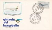 1973 GIORNATA DEL FRANCOBOLLO RAVENA  TRANSPORTO POSTALE / 6155 - Italy