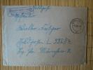 """Feldpostbrief Mit Landpoststempel""""Grabstederfeld über Varel(Oldenburg) Von 1942 - BRD"""