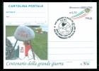 GUERRA 1915-18-MONTELEONE DI SPOLETO-RUSCIO--EVENTI-INTERO POSTALE-SOPRASTAMPA PRIVATA-MARCOFILIA - Guerre 1939-45