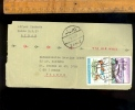 LIBAN LEBANON 1970 1971 Airmail 2 Letters 4 Stamps 2 Lettres 4 Timbres - Lebanon