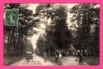 Le Gavre - La Forêt - Le Rond-Point - Animée - Fiacre - Vieille Voiture - Phototypie VASSELIER - Le Gavre