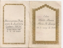 """INVITACION LUNCH DE BODA """"CONFITERIA PERON"""" BUENOS AIRES ARGENTINA WEDDING DINNER INVITATION ANNÉE 1949 RARISSIME GECKO - Seizoenen En Feesten"""