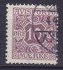 Denmark Verrechnungs Marke Newspaper Porto 1907 Mi. 4 X    10 Ø Avisporto - Port Dû (Taxe)