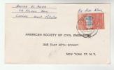 1964 PAKISTAN COVER Stamps 1.25r NEW YORK WORLD FAIR Expo To USA - Pakistan
