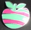Pin´s Apple - Pomme - Maçã. - Alimentation