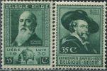 BE1421 Belgium 1930 Painter Rubens 2v MLH - Unclassified