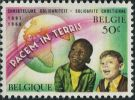 BE1428 Belgium 1966 Children And Earth 1v MLH - Bélgica