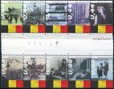 BE1430 Belgium 2005 Flag Of Historical Events 10v MNH 10v MNH - Belgium