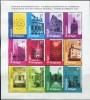 BE1435 Belgium 1998 Various Styles Of Architecture S/S(12) MNH - Belgium