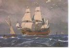 Corsaires Et Vaisseaux :  Vaisseau LE BRILLANT Vers 1680  - E. Blandin Peintre N°808 (palette Bretonne Saint Malo) - Saint Malo
