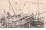 """CPA  PRECURSEUR BORDEAUX (33) PROGRES DU RENFLOUEMENT DU """"CHILI"""" DES MESSAGERIES MARITIMES - ECHOUE LE 23 AVRIL 1903 - Bordeaux"""