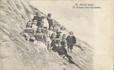 Calmpthout.  -   Un Groupe Dans Les Dunes;   1906  Naar Hôtel De La Poste - Kalmthout