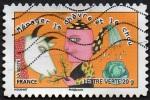 Oblitération Moderne Sur Autoadhésif De France N°  798 - Sauter Du Coq à L'âne - Ménager La Chèvre Et Le Chou - France
