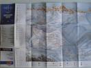 Alt790 Ski Area Pocket Map Mappa Piste Sci Impianti Risalita Skilift Cablecar Lifts San Pellegrino Moena Falcade Dolomit - Sport Invernali