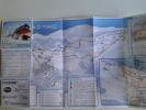 Alt792 Ski Area Map Mappa Piste Sci Impianti Risalita Skilift Cablecar Lifts Domaine Skiable Maniva Val Trompia Brescia - Sport Invernali