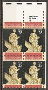 USA. Scott # 2412 MNH. Zip Block Of 4. Constitution Bicentennial  1989 - Blocchi & Foglietti