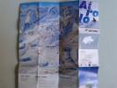Alt799 Ski Area Map Mappa Piste Sci Impianti Risalita Slopes Skilift Cablecar Charlifts Funivia Airolo San Gottardo Snow - Sport Invernali