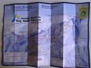 Alt800 Ski Area Map Mappa Piste Sci Impianti Risalita Slopes Skilift Cablecar Charlifts Funivia Puy Saint Vincent Tete - Sport Invernali