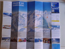 Alt805 Ski Area Map Mappa Piste Sci Impianti Risalita Slopes Skilift Cablecar Charlift Funivia Diavolezza Bernina - Sport Invernali