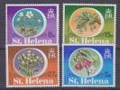 St. Helena 1981 Flowers 4v ** Mnh (25809) - Sint-Helena